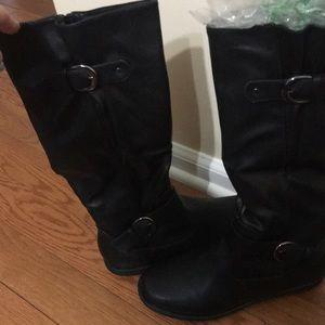 Dream Pairs Black Boots